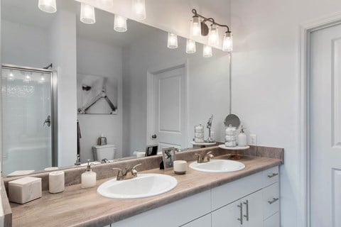 Capital Crest Double Vanity Bathroom
