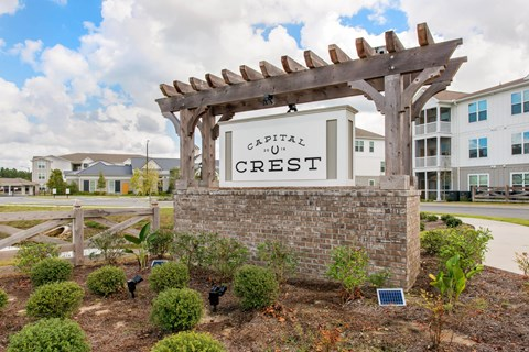 Capital Crest Property Sign