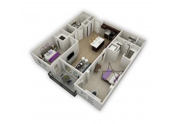 Mozart floor plan