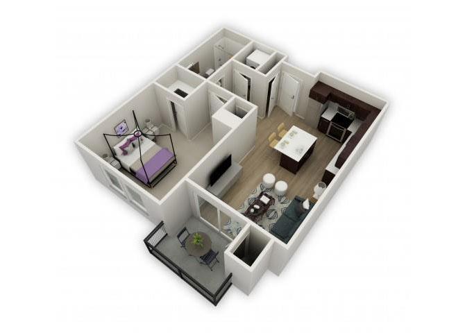 Opus floor plan