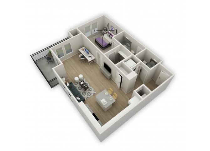 Serenade floor plan