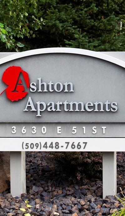Spokane, WA Ashton Apartments logo