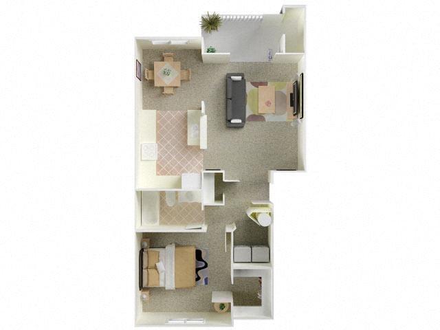Comstock Floor Plan 1