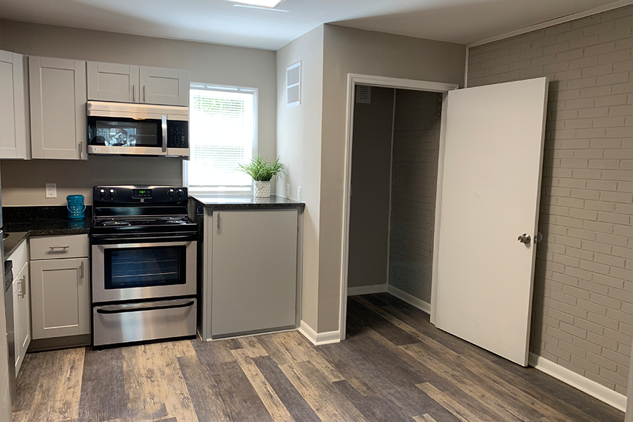 Additional View of Wynwood Place Estates Kitchen Including Laundry Room