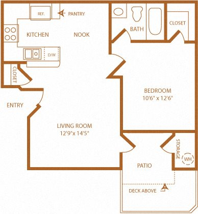 Larkspur Floor Plan 1
