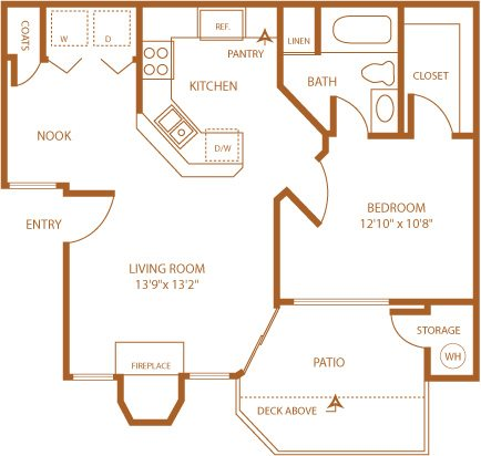 Morning Glory Floor Plan 2