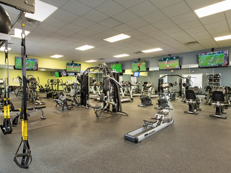 northwest houston apartments with a fitness center