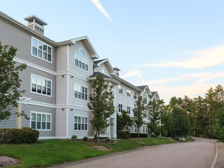 Apartment Complex Exterior at The Preserve Apartments, Walpole, MA 02081