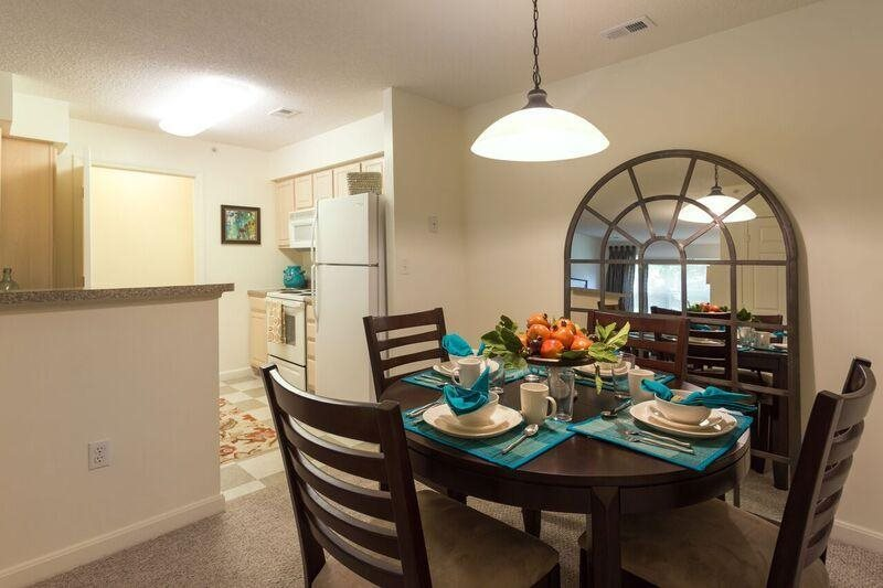 Spacious Dining Area Near Kitchen at The Preserve Apartments, 100 Hilltop Dr, Walpole, MA