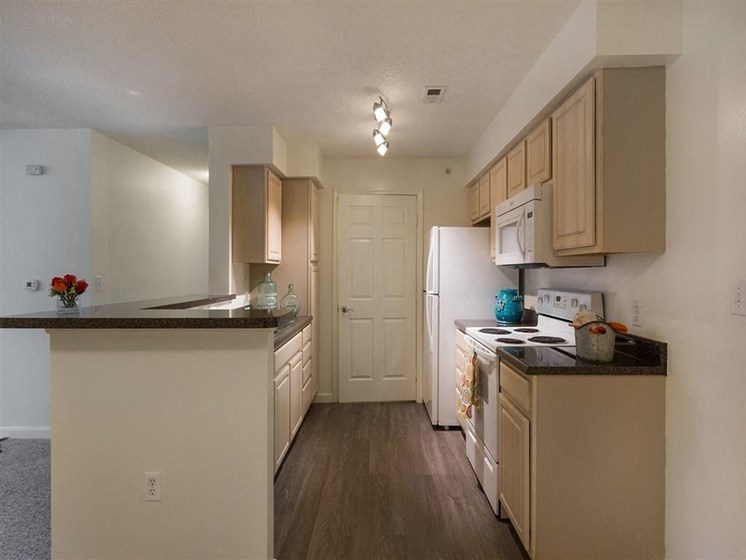 Kitchens with Ample Space at The Preserve Apartments, 100 Hilltop Dr, Walpole, MA 02081