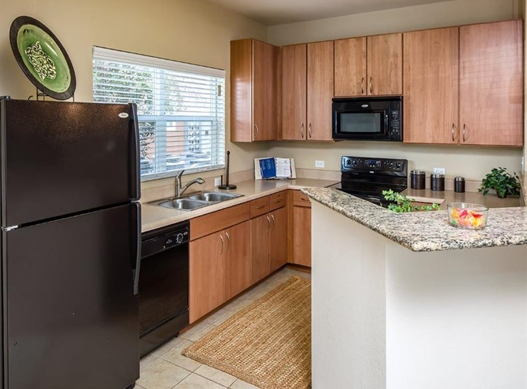 Designer Granite Countertops at Verano Apartments, Kissimmee, FL, 34744