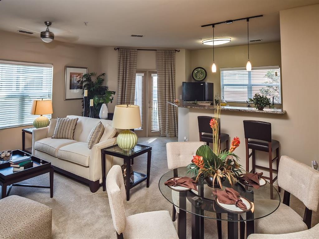 Ceiling Fan in Living Room at Verano Apartments, Kissimmee, FL