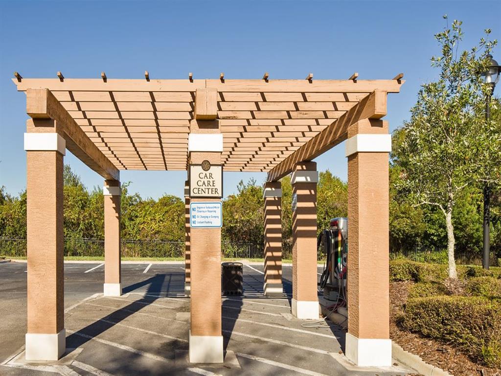On-Site Car Care Center at Verano Apartments, Florida, 34744