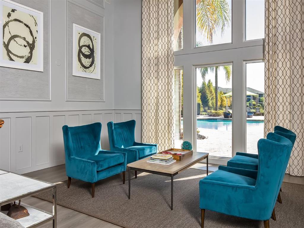 Designer Lounge at Verano Apartments, Florida