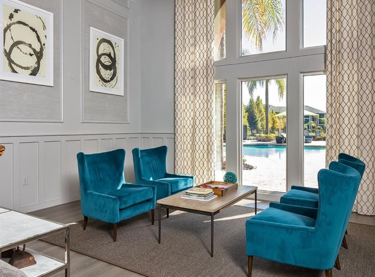 Designer Lounge at Verano Apartments, Florida