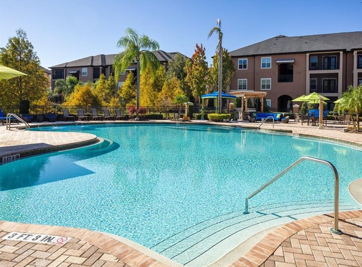 River Style Pool at Verano Apartments, Kissimmee, Florida