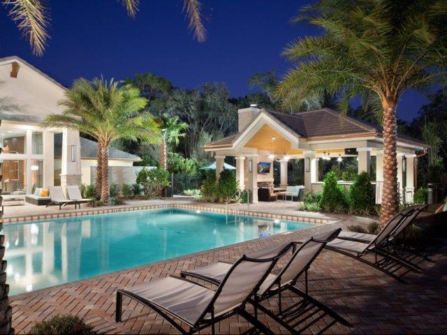 Resort Inspired Pool and Spa at Altis at Grand Cypress, Lutz, Florida