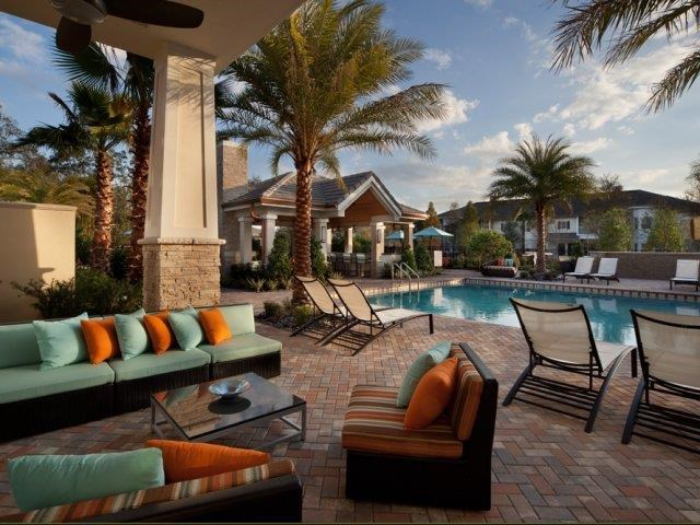 Outdoor Lounge at Altis at Grand Cypress, Lutz