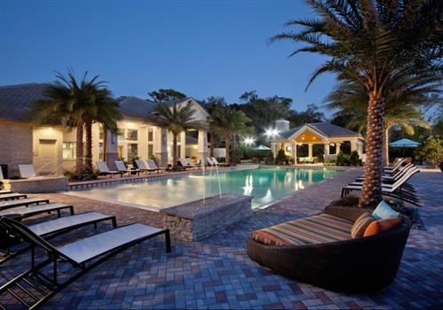Shimmering Heated Pool at Altis at Grand Cypress, Florida