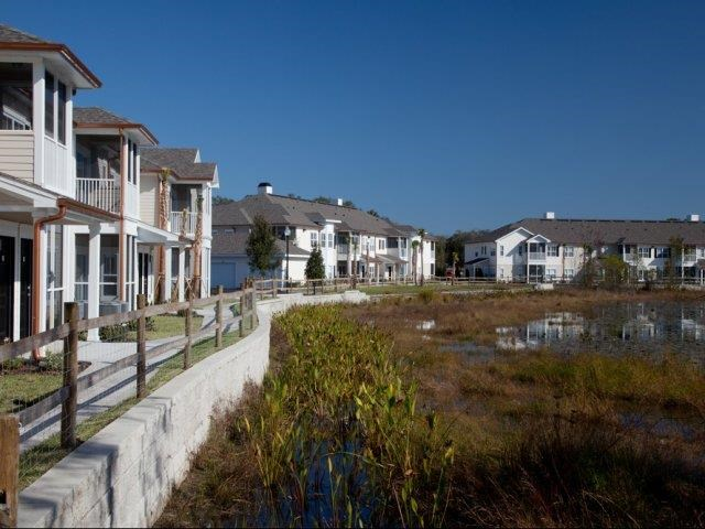 Beautiful Wetlands, Lake and Lush Green Areas at Altis at Grand Cypress, Florida, 33549