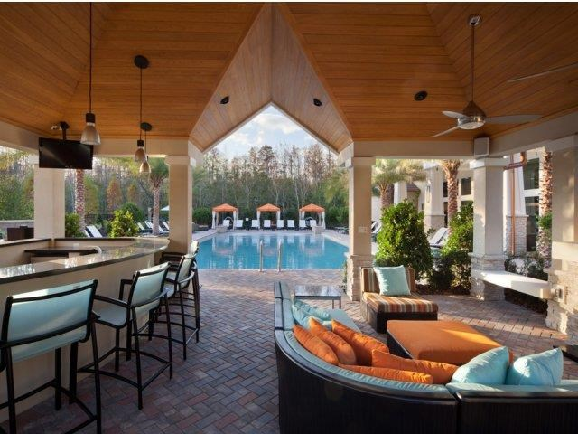 Poolside Resident Lounge at Altis at Grand Cypress, Lutz