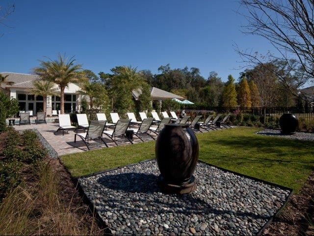 Picnic and BBQ Area at Altis at Grand Cypress, Lutz, Florida