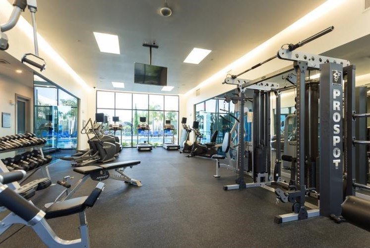 24 hour Fitness Center at Pure Living Heathrow, Heathrow