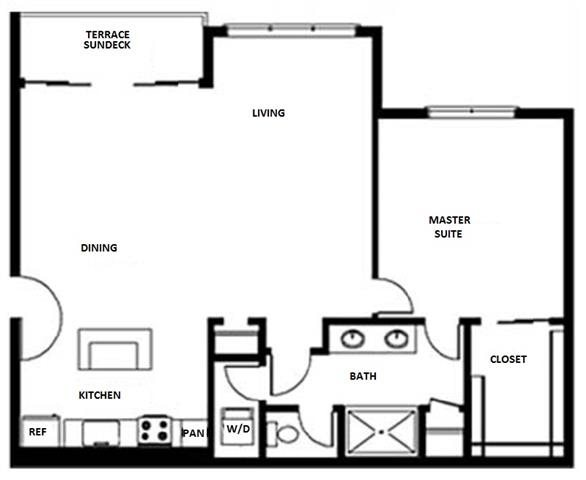 Floor Plan at Pure Living Heathrow, Heathrow, Florida