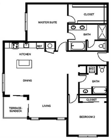 Floor Plan at Pure Living Heathrow, Heathrow, FL, 32746
