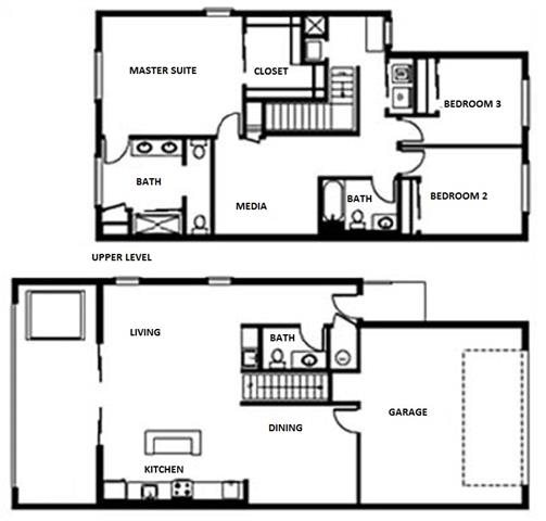 Floor Plan at Pure Living Heathrow, Florida