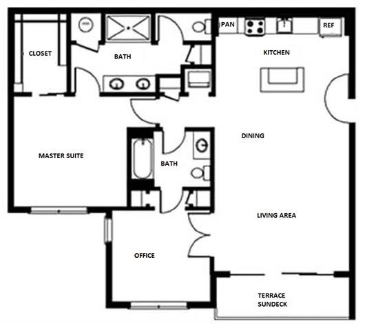 Floor Plan at Pure Living Heathrow, Heathrow