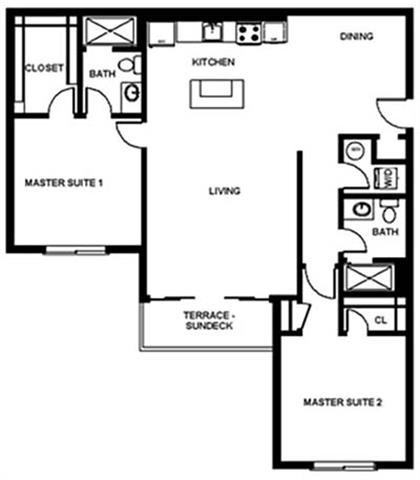 Floor Plan at Pure Living Heathrow, Florida, 32746