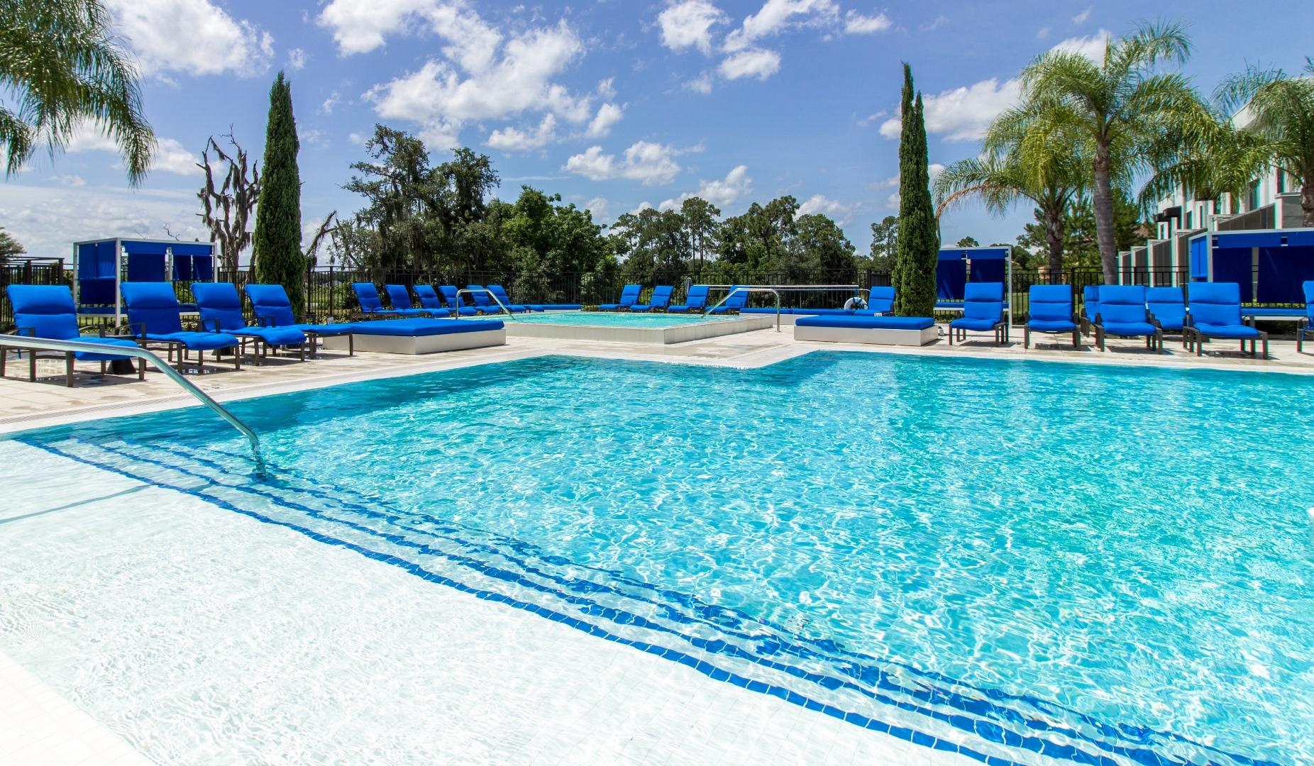 Shimmering Swimming Pool At Pure Living Heathrow, Heathrow, Florida