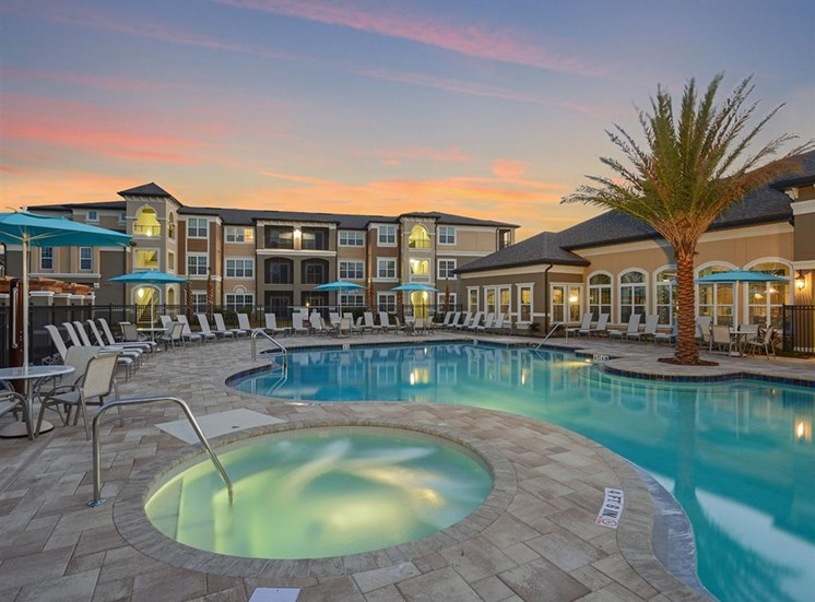 Year-Round Hot Tub at Reserves at Alafaya, Orlando, FL, 32828