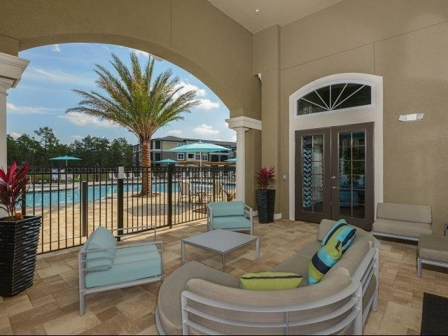 Poolside Lounge at Reserves at Alafaya, Orlando, FL
