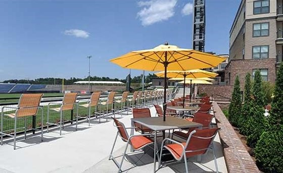 Rooftop Deck at The Views at Coolray Field, Georgia, 30043