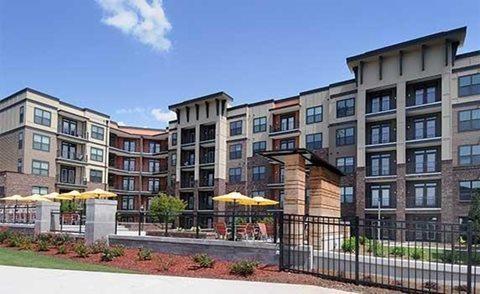 External Apartment View at The Views at Coolray Field, Lawrenceville, GA, 30043