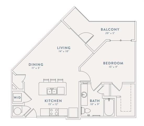 Floor Plan at The Views at Coolray Field, Lawrenceville, GA, 30043