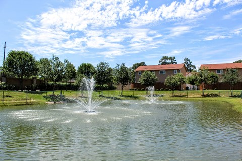Exceptional Water Views at Fountains at Champions, 14827 Mittlestedt Champions Dr, 77069