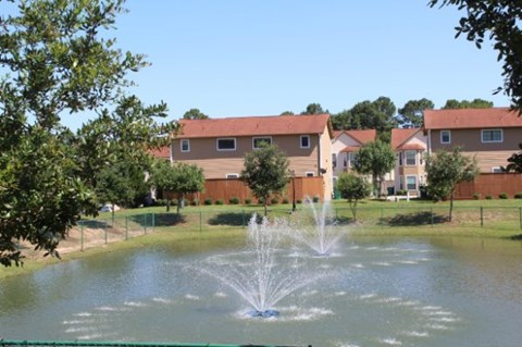 Fantastic Views at Fountains at Champions, Houston, TX