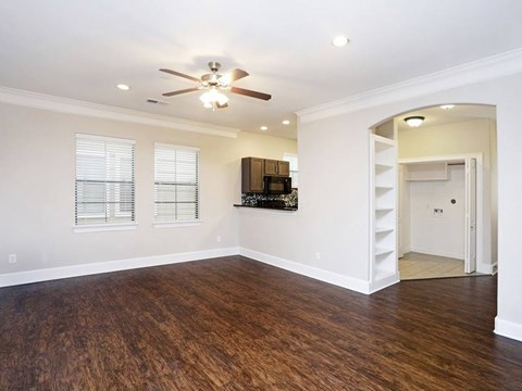 Faux Hardwood Floors at Fountains at Champions, TX, 77069