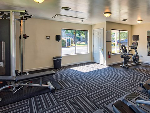 Compass at City Center Apartments Gym