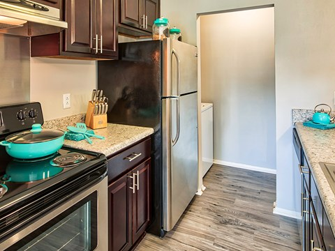 Compass at City Center Apartments Kitchen