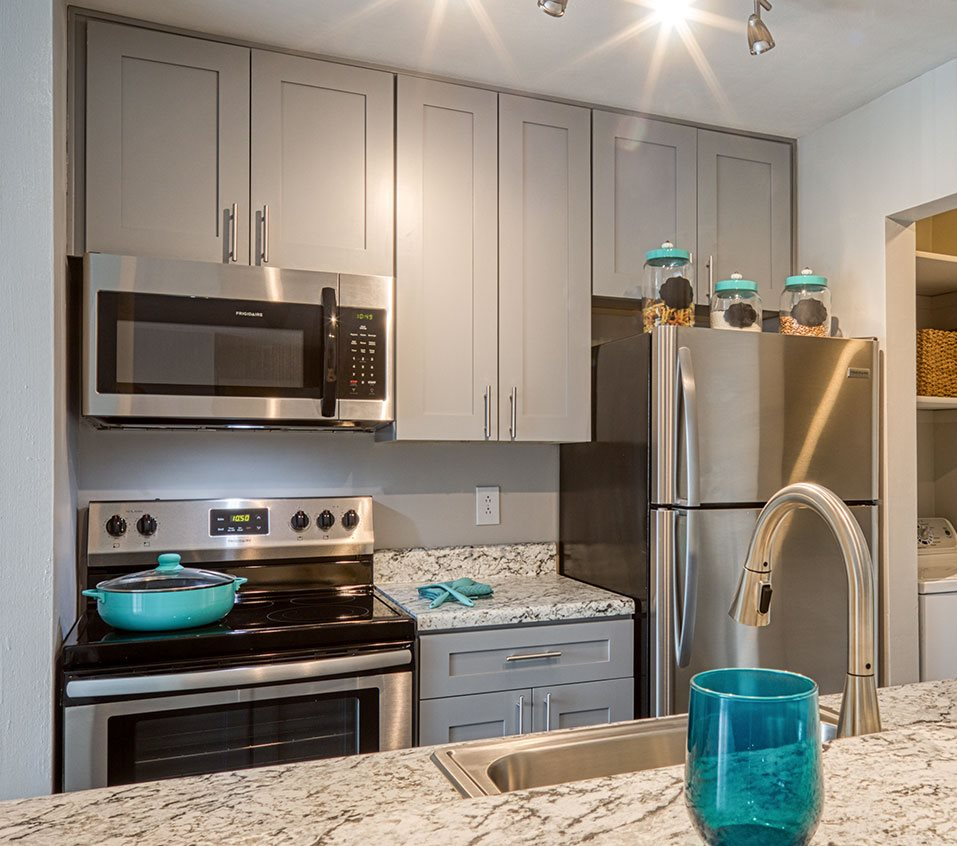 Model Kitchen at Compass at City Center
