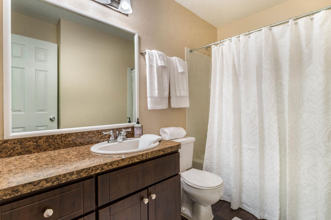 Southpark Commons Apartment Homes|Fully Furnished Bathroom