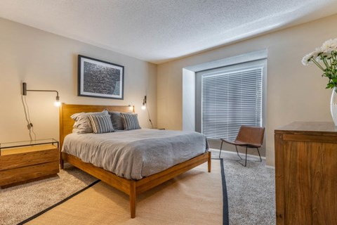 Southpark Commons Apartment Homes|Fully Furnished Bedroom