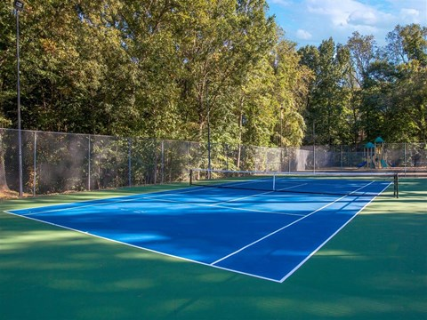 Southpark Commons Apartment Homes|Tennis Court