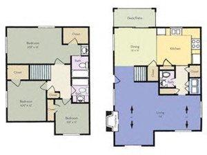 3 bedroom 2.5 bathroom