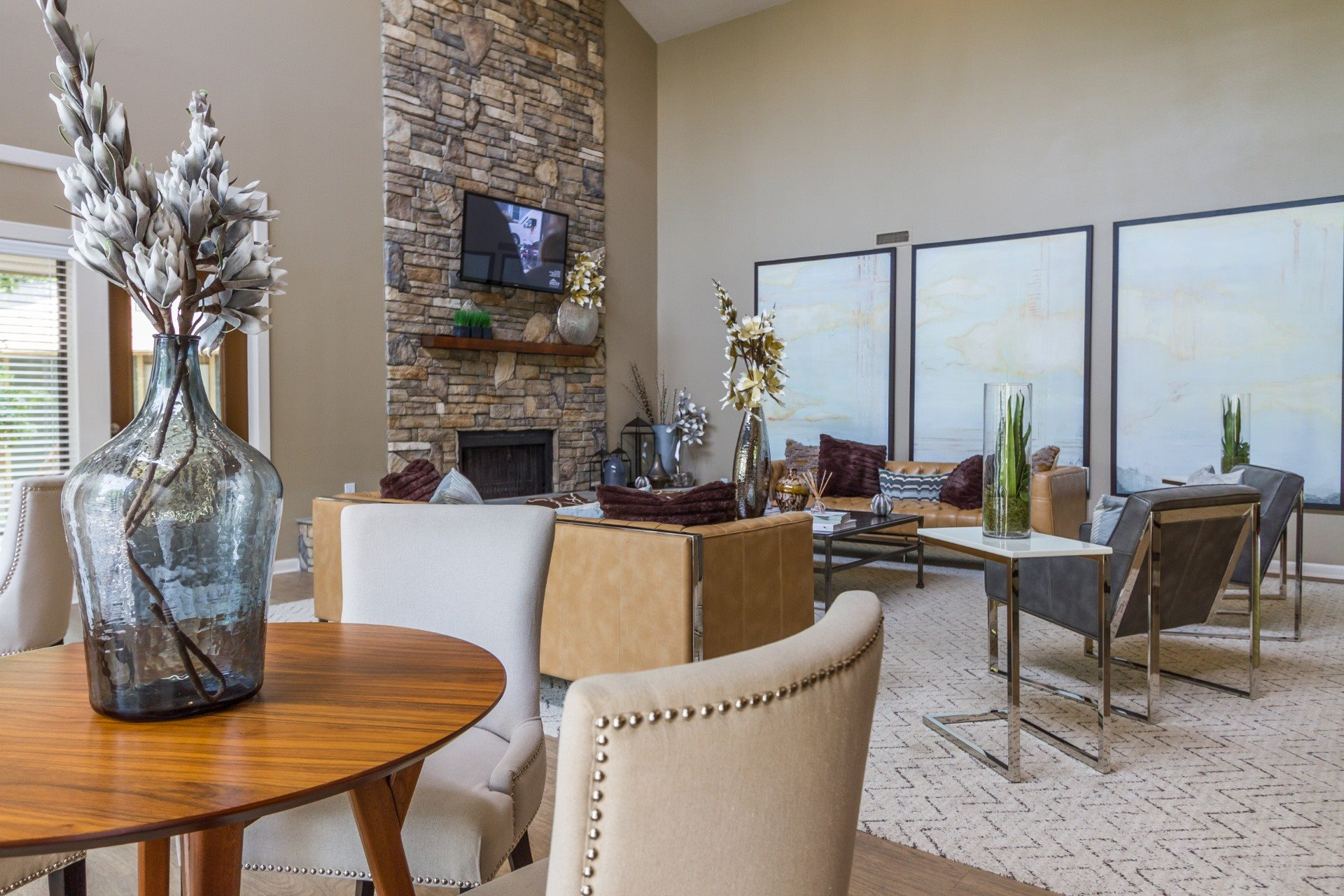 Madison Southpark| Clubhouse Interior