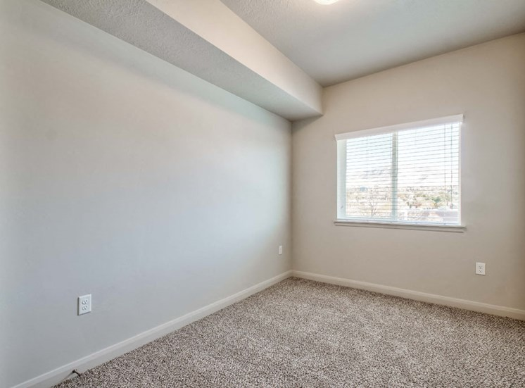 empty bedroom with carpet